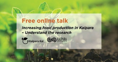 Free online talk on productive land use