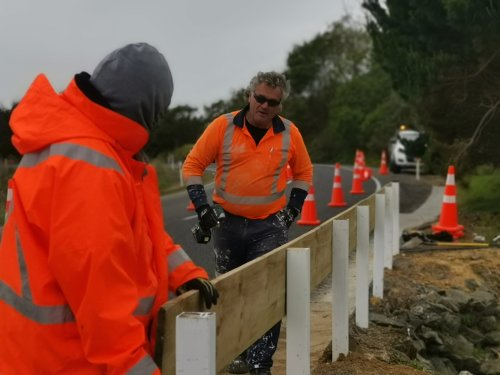 Roadside projects completed under Te Tai Tokerau Redeployment Package