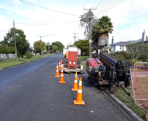 Work on Dargaville Water Mains