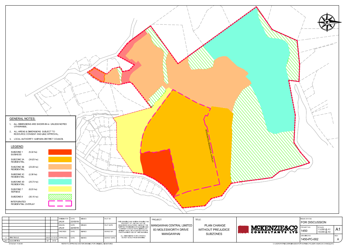 Proposed Zoning Map